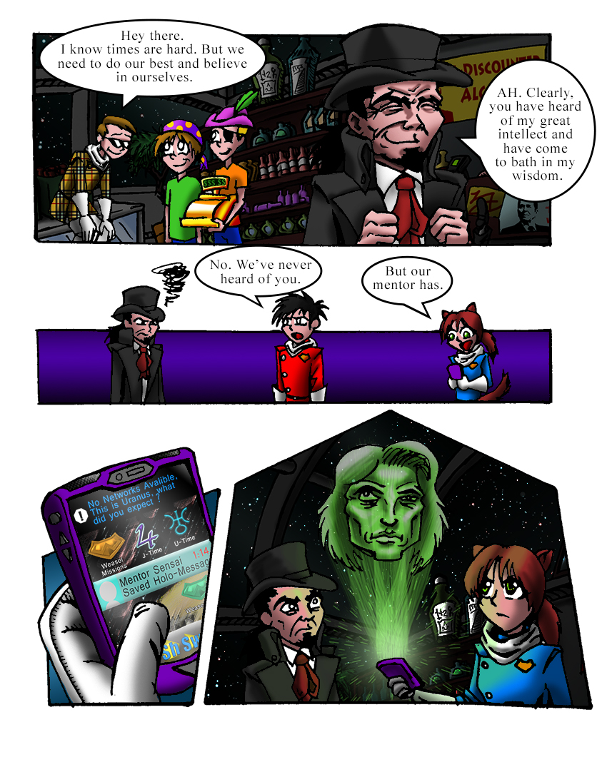 The Weasels of Justice 6